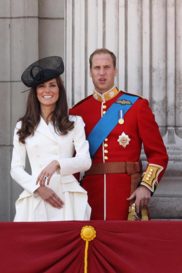 Catherine; Duchess of Cambridge and Prince William; Duke of Cambridge