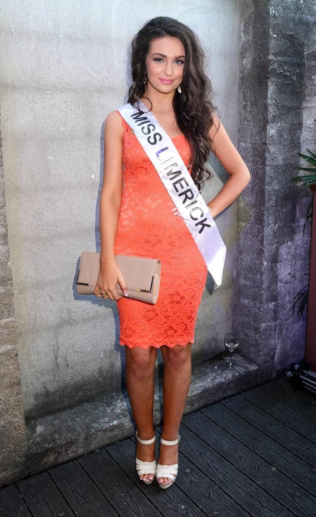 Miss Limerick Shauna Lindsay in 2013