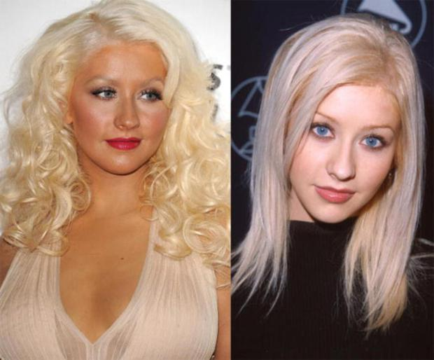 One of the original Mouseketeers, Christina Aguilera first grabbed our attention in 1999 with three number 1 singles, and a sensational voice which she teamed with a raunchy image image. Within a few short years Aguilera's fame had reached dizzying heights. Yet no sooner was Christina's image firmly established then she quickly set about ruining all that good work. Sadly, too much make-up and even more leopard print seems to be her uniform of choice these days. No matter what they say?