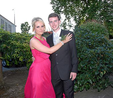 Niall O'Keeffe and Aoife Neenan who attended the St Marys Mallow Debs. (Photo by Bernadette Hayes)