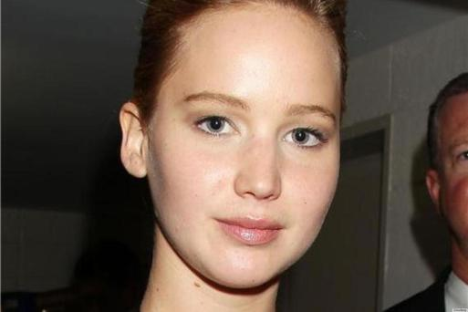 21-year-old Jennifer Lawrence is a natural beauty