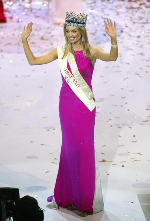 Rosanna triumphed over 105 other young ladies to become the 52nd Miss World and Ireland's first Miss World in 2003.