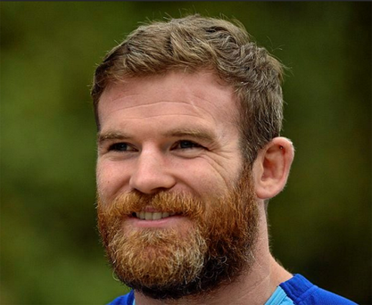 Gordon DArcy has added 20 years to his 33 since growing a very impressive manly beard. But time now to shave it off and bring back his boyish good looks.