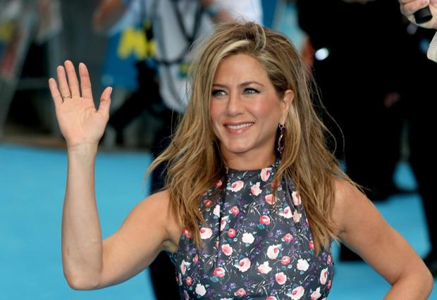 Jennifer Aniston attends the European premiere of 'We're The Millers'