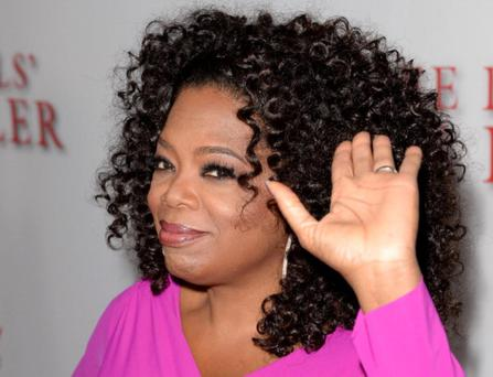 LOS ANGELES, CA - AUGUST 12: Oprah Winfrey arrives at the premiere of The Weinstein Company's