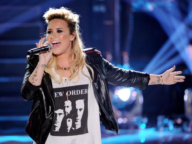 Singer Demi Lovato. (Photo by Kevin Winter/Getty Images)
