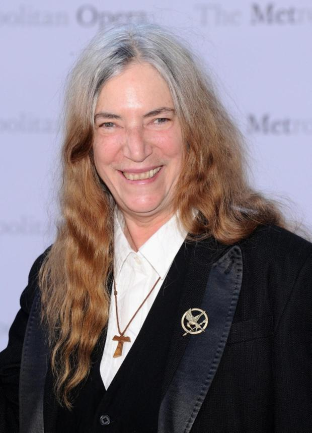 NEW YORK, NY - SEPTEMBER 23: Patti Smith attends the Metropolitan Opera Season Opening Production Of