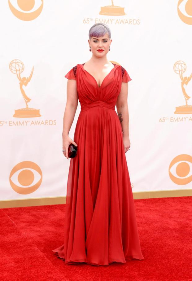 LOS ANGELES, CA - SEPTEMBER 22: TV personality Kelly Osbourne arrives at the 65th Annual Primetime Emmy Awards held at Nokia Theatre L.A. Live on September 22, 2013 in Los Angeles, California. (Photo by Frazer Harrison/Getty Images)