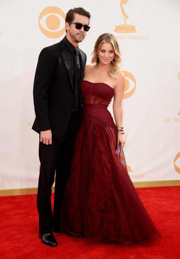Kaley Cuoco and Ryan Sweeting wed after three months of dating.