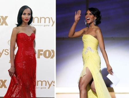 Kerry Washington has been voted best dressed celebrity by People magazine. The magazine describes the Scandal star as having haute hit after hit I like to find balance in an outfit where it doesnt feel too much of any one thing, she tells People magazine.