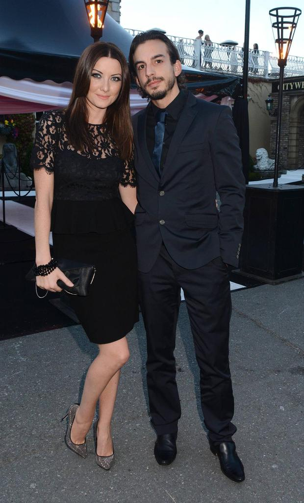 Jennifer Maguire and husband Lau Zampareilli