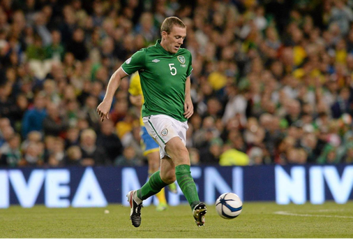 Richard Dunne, . Picture credit: Matt Browne / SPORTSFILE