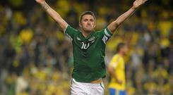 Robbie Keane is backing a Yes vote