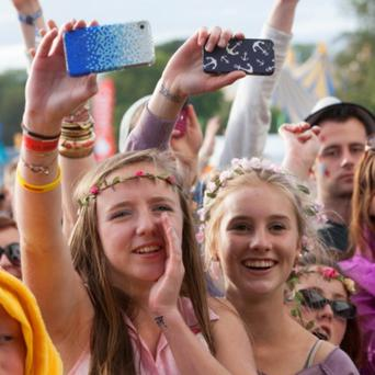 Kodaline fans at the Electric Picnic main stage. Picture: Tony Kinlan.