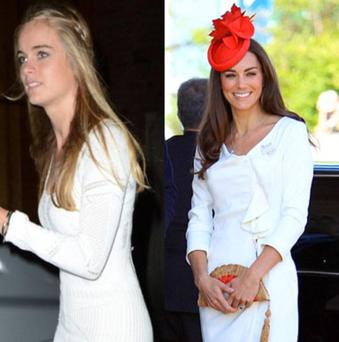 Style wars: Cressida Bonas vs Kate Middleton