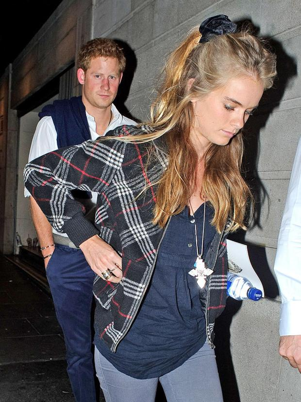 A rare photo of Prince Harry and Cressida Bonas show their low-key style