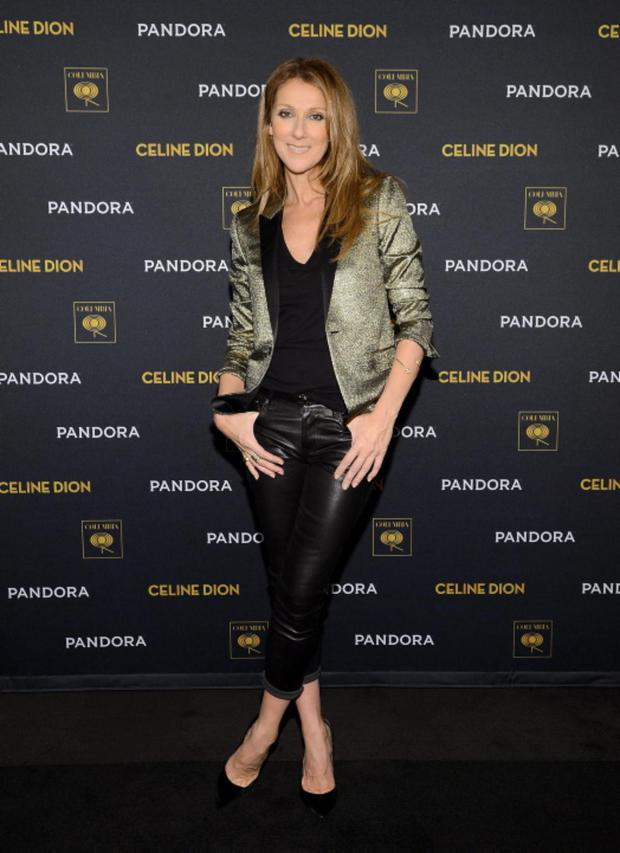 Celine Dion attends Pandora Presents Celine Dion at The Edison Ballroom on October 29, 2013 in New York City
