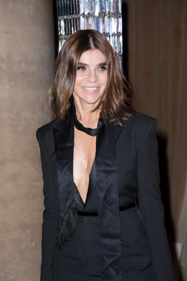 NEW YORK, NY - OCTOBER 22: Carine Roitfeld attends the 30th Annual Night Of Stars presented by The Fashion Group International at Cipriani Wall Street on October 22, 2013 in New York City. (Photo by Dave Kotinsky/Getty Images)