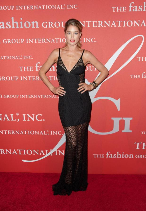 NEW YORK, NY - OCTOBER 22: Model Doutzen Kroes attends the 30th Annual Night Of Stars presented by The Fashion Group International at Cipriani Wall Street on October 22, 2013 in New York City. (Photo by Dave Kotinsky/Getty Images)
