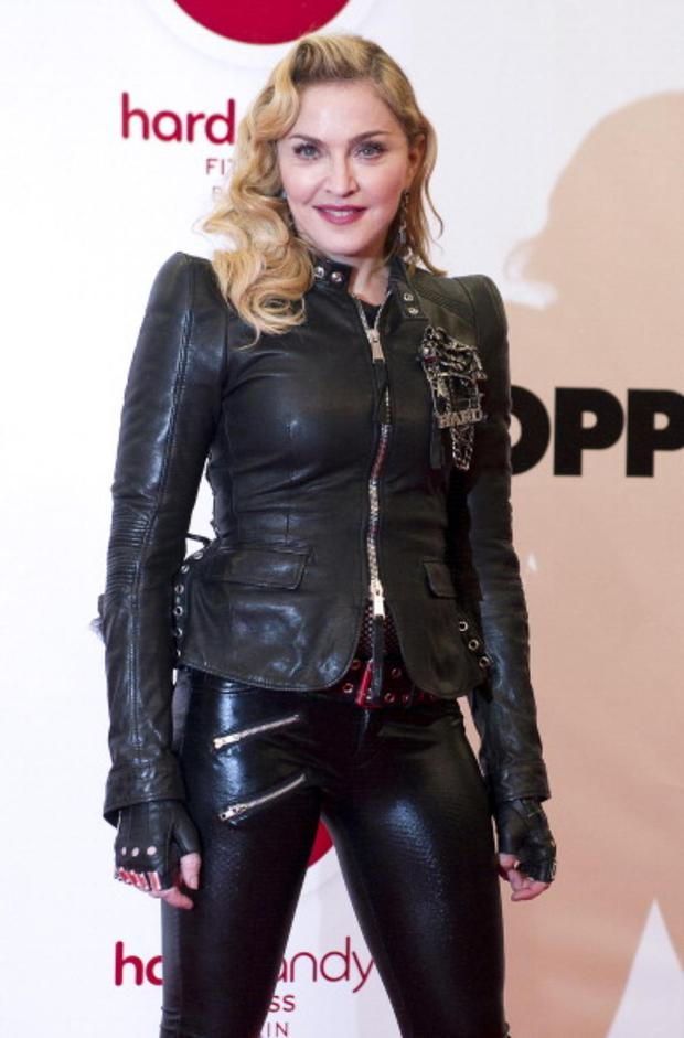 Madonna (Photo by Target Presse Agentur Gmbh/Getty Images)