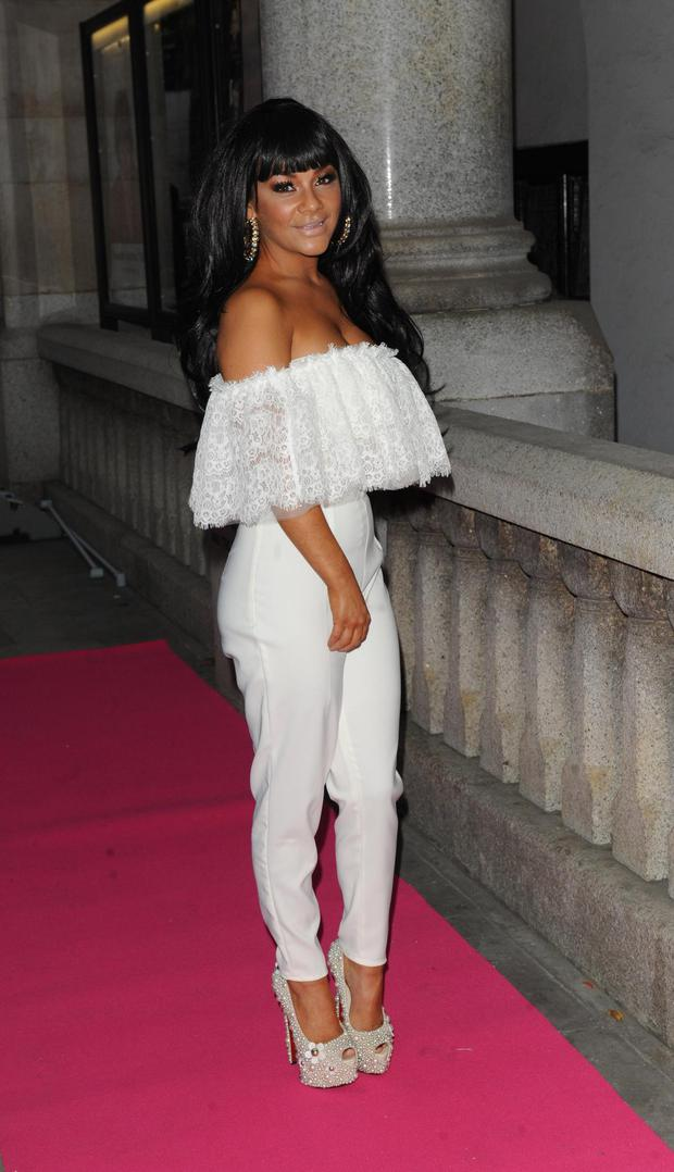 LONDON, UNITED KINGDOM - OCTOBER 02: Chelsee Healey attends the Inspiration Awards for Women at Cadogan Hall on October 2, 2013 in London, England. (Photo by David M. Benett/Getty Images)