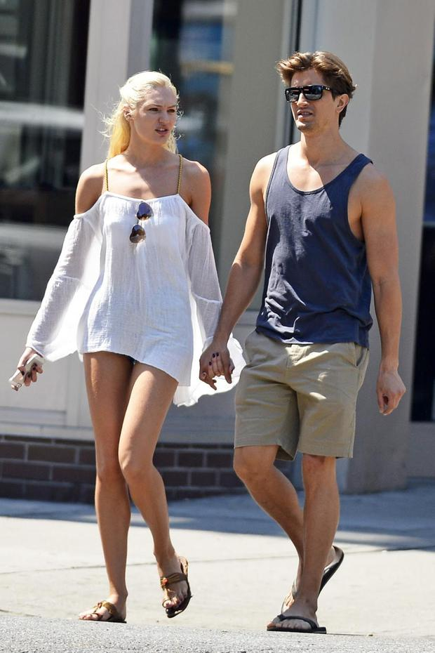 Victorias Secret Angel has been dating fellow model Hermann Nicoli since she was 19 years old