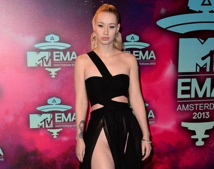 Iggy Azalea attends the MTV EMAs 2013 at the Ziggo Dome on November 10, 2013 in Amsterdam, Netherlands. (Photo by Ian Gavan/Getty Images for MTV)