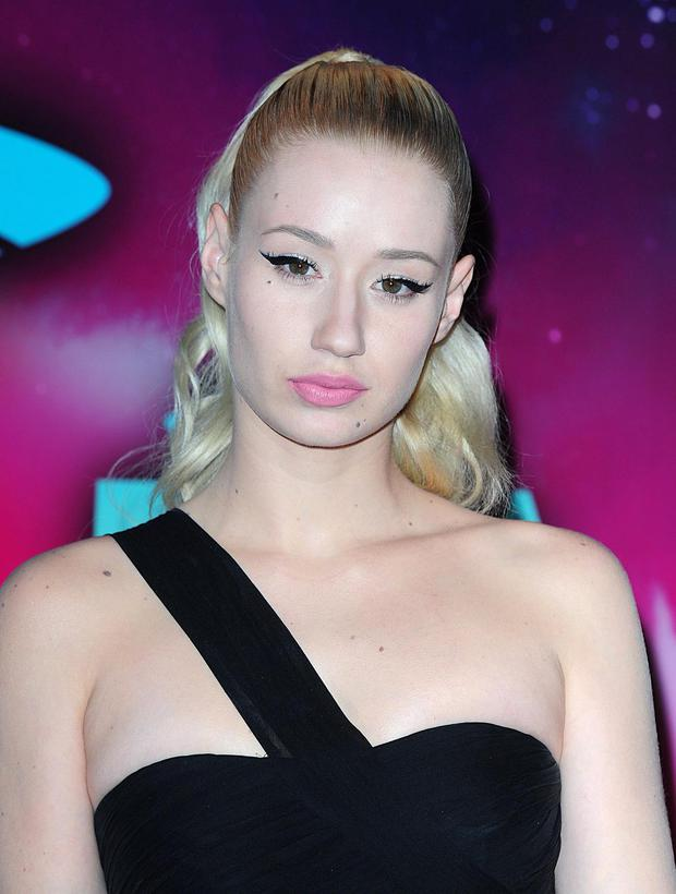 Iggy Azalea arriving for the 2013 MTV Europe Music Awards at the Ziggo Dome in Amsterdam, Netherlands. PRESS ASSOCIATION Photo. Picture date: Sunday November 10, 2013. See PA story SHOWBIZ MTV. Photo credit should read: Ian West/PA Wire