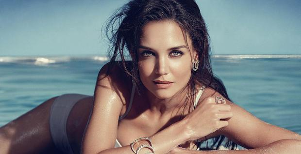 Katie Holmes has been the face of Bobbi Brown for over a year