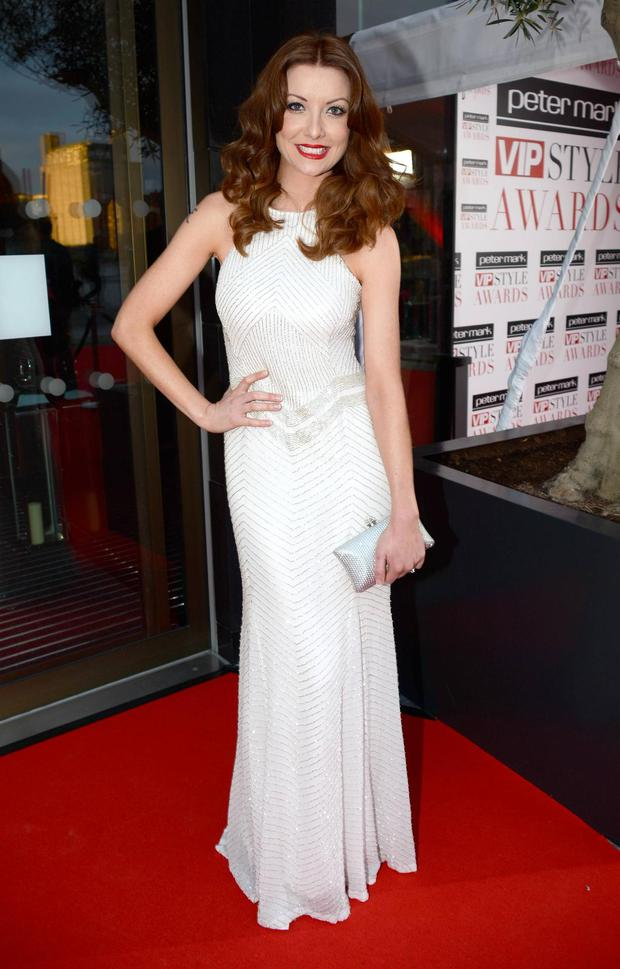 Jennifer Maguire at the Peter Mark VIP Style Awards 2013 at The Marker Hotel