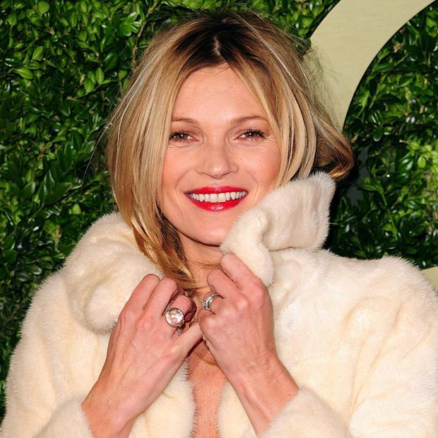 Looking good: Kate Moss arriving for the 2013 British Fashion Awards. Photo credit: Ian West/PA Wire