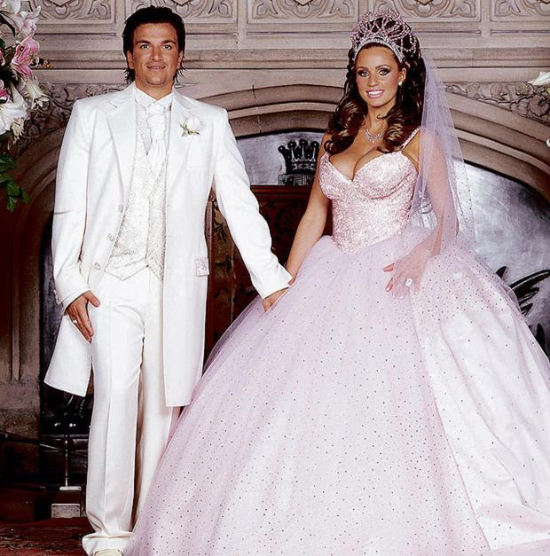 Katie Price went for the Barbie approach marrying Peter Andre in 2005