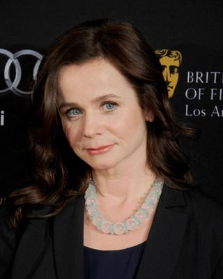 The 45-year-old British actress Emily Watson recently picked up an award for her role in a drama about serial killer Fred West.