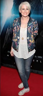 "Sinead Kennedy at The irish Premiere screening of Superman ""Man of Steel"" at The Savoy cinema Dublin"