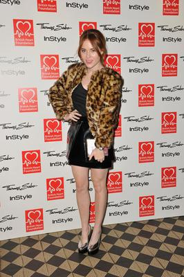 LONDON, ENGLAND - NOVEMBER 12:  Angela Scanlon attends the Tunnel of Love fundraiser in aid of the British Heart Foundation at One Mayfair on November 12, 2013 in London, England.  (Photo by Gareth Cattermole/Getty Images)
