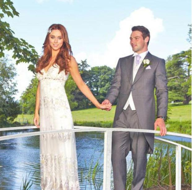 The Saturdays singer and her rugby player husband headed to her home county of Tipperary to get married. Her bandmates were bridesmaids and then the happy couple headed to Kilshane House for their reception.