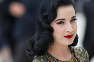 Burlesque dancer Dita Von Teese turned 40 in 2012. A fan of all things retro, Dita always looks elegant and polished.
