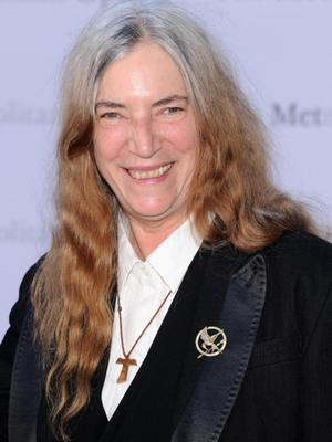 "NEW YORK, NY - SEPTEMBER 23:  Patti Smith attends the Metropolitan Opera Season Opening Production Of ""Eugene Onegin"" at The Metropolitan Opera House on September 23, 2013 in New York City.  (Photo by Jamie McCarthy/Getty Images)"