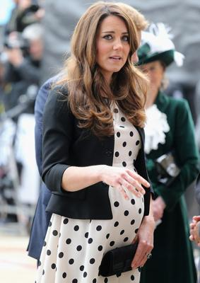 Her polka dot Topshop dress sold out hours after Kate originally wore it last month.