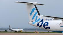 Pressure: Regional airline Flybe sought a rescue package from the UK government