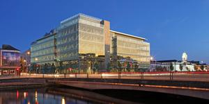 An artist's impression of the new quayside building, which is due to open early next year in Cork City