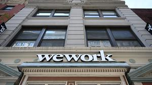 Flexible workspace company WeWork says it is willing to negotiate payment deferrals with customers. Photo: Timothy A Clary/Getty