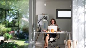 The survey found 48pc of employers favoured a mix of remote working and workplace-based working when pandemic restrictions are lifted. (Stockphoto)