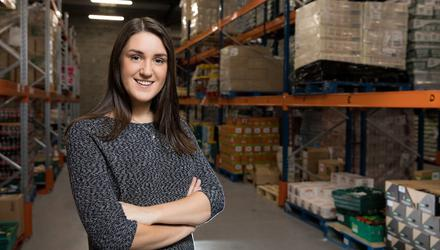 Iseult Ward, co-founder and CEO of FoodCloud. Picture by Naoise Culhane