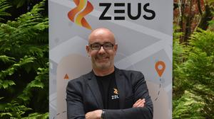 Damian Young, founder of Zeus Scooters
