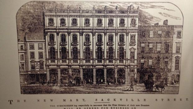 SHOPPING MECCA: The original Clerys drawings of 1898