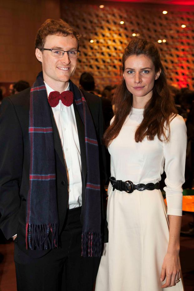 Paddy Cosgrave and Faye Dinsmore