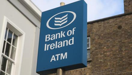 Bank of Ireland had a net loss of €724m last year