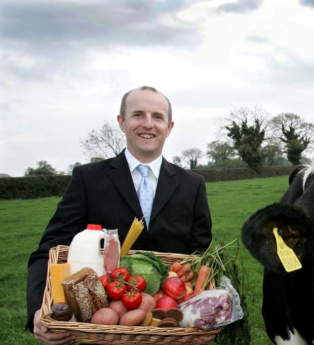 Support: Food Drink Ireland director Paul Kelly says the industry's fate is linked to the wider economy