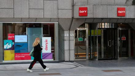 Davy finds itself in the shop window after the bonds scandal and its wealth management business is the biggest prize for any buyer. Photo: Niall Carson/PA Wire